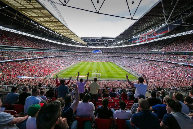 イングランドのウェンブリースタジアム、ギャンブル系スポンサーを禁止の方針