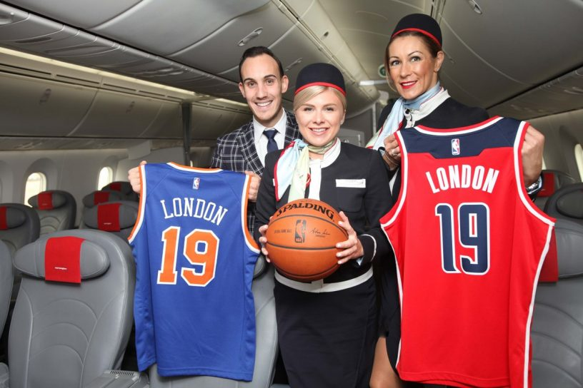 ノルウェー航空、NBA公式戦の冠スポンサーで狙う認知拡大 – スポーツ ...