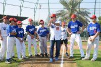 エミレーツ航空、地元ドバイでドジャースと野球教室を開催