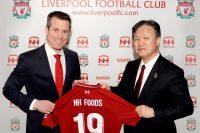 日本ハム、リバプールFCとのパートナーシップでフードバンクを支援