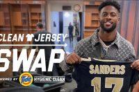 洗剤メーカーTide、NFL選手のジャージ交換を助けるアクティベーションで好感度アップへ
