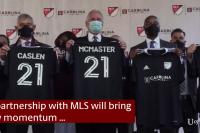 サウスカロライナ大学、MLSとの教育パートナーシップの狙いとは